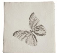 Provenza Blanco Gris Dec. Butterfly