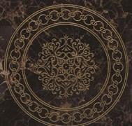 Classic Emperador Brown Roseton Декор