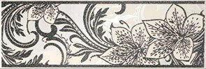Азур Крем Бордюр 1501-0046 8,5х25