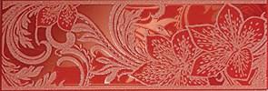 Азур Бордюр алый 1501-0053 8,5х25