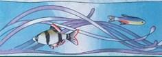 Бордюр Бордюр Рыбки 3