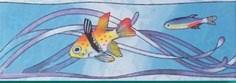Бордюр Бордюр Рыбки 4