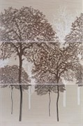 Castylia Klon Панно (3-элемента) Drzewa 90х60