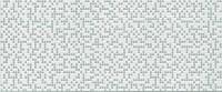 Neo Geo Pixel white Декор 25x60