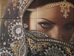 Mural Yasmin Negro Панно ( из 6 пл.) 75x100