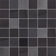Glossy Malla Negro Мозаика 30x30