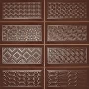 Diamond 4x2 DEC marron Плитка настенная 31,6x31,6