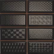 Diamond 4x2 DEC negro Плитка настенная 31,6x31,6