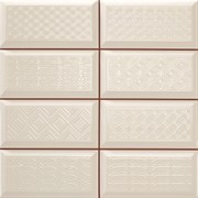 Diamond 4x2 DEC blanco Плитка настенная 31,6x31,6