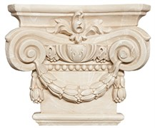 Capitel Columna Noblesse Natural Капитель колонны 22x25