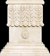 Base Columna Noblesse Natural Основание колонны 18x20