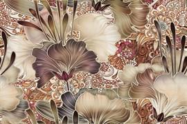 Decor Vidriera Geneve Brown R225 Панно (из 2х пл) 50x75