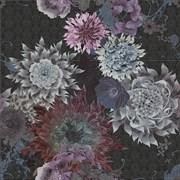 Dec Flower Oro Siena Negro Панно (из 3-х пл) 75x75