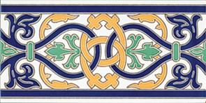 Cenefa Talavera Плитка настенная 14х28
