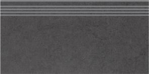 DP603400R\GR Ступень Фьорд черный обрезной