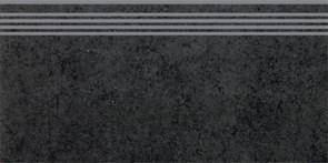 SG602100R\GR Ступень Фудзи черный обрезной