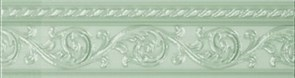 Бордюр Moldura Yara Verde Pastel 4*15