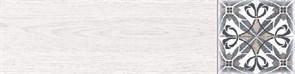 Дуб Декор 1 белый 60х15,1
