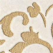 Vesta Avorio Bottone Leaf Lappato 7.2x7.2