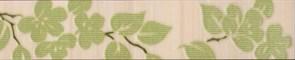 Бордюр Цветы на светлом 25x4.8 фисташковый