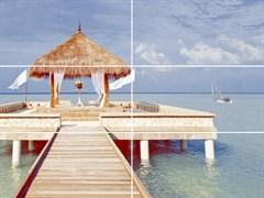Меланж Мальдивы 50х25