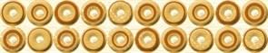 Бордюр Шелк желтый 38 25х5,5