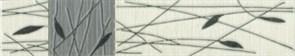 Бордюр Piano 2 серый 25x5.4