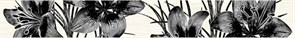 Бордюр Piano серый 400x50