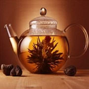 Акварель Чай декор 1 20x20