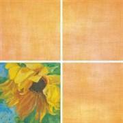 Декор Подсолнухи оранжевый 7201 20x20