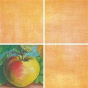 Декор Подсолнухи оранжевый 7202 20x20