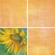 Декор Подсолнухи оранжевый 7203 20x20