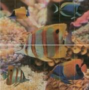 Панно Sunset Aquarium (комплект 2 пл.)