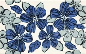 Плитка Vivian Blue kwiat 25x40