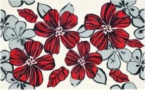Плитка Vivian Rosa kwiat 25x40