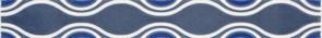 Плитка Vivian Blue Fala 4.8x40