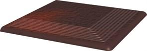 Ступени Cloud Brown Duro Ступень рифленая наружная структурированная 30х30