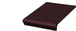 Ступени Natural Brown ступень простая с носиком структурированная 30x33
