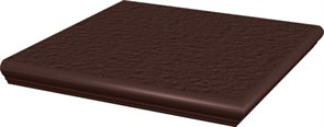 Ступени Natural Brown ступень угловая с носиком структурированная 33x33