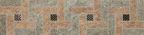 154\4552 Бордюр Эйгер мозаичный