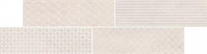 O-SAC-WIH091 Вставка Sandy Island мозаика серый 14,4x54,2