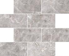 Мозаика Marmori Кирпичная кладка Холодный Греж (7*14) 35,5х29