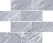 Мозаика Marmori Кирпичная кладка Дымчатый Серый (7*14) 35,5х29