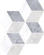 """Мозаика Marmori """"Ромб"""" Холодный Микс 28,5х29,5"""