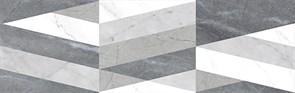 Плитка облиц. керамич. CORINTHIAN TRIANGLE GREY, 31,6x100