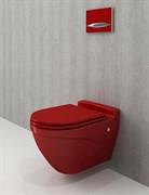 Унитаз подвесной Bocchi Taormina Arch красный 1012-019-0129