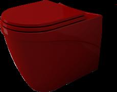 Унитаз компакт Bocchi Taormina красный