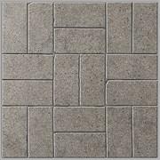 BR006 Декор Фьорд серый мозаичный