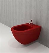 Биде подвесное Bocchi Taormina Arch 540*365 красный 1121-019-0120