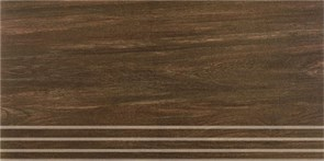 SG203400R\GR Ступени Шале коричневый обрезной